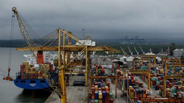 Las exportaciones sufrieron un desplome récord del 39%