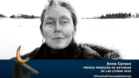La poeta canadiense Anne Carson gana el Princesa de Asturias de las Letras