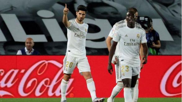 Benzema y Asensio despiertan al Madrid del letargo ante el Valencia  3-0