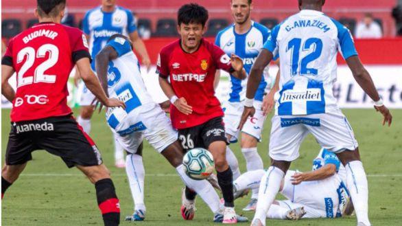 Un golazo de Óscar Rodríguez ajusticia un empate para el Leganés en Mallorca |1-1