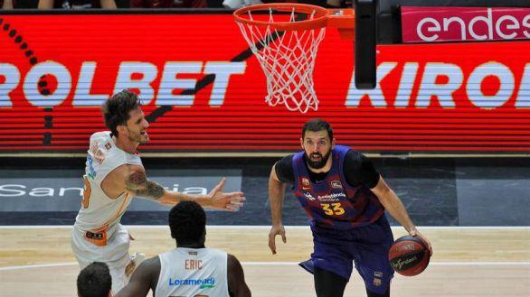 ACB. El Barcelona derrota al Baskonia y afianza su inercia | 81-75