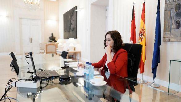 Ayuso denuncia el plan del Gobierno para desestabilizar la Comunidad de Madrid