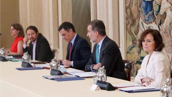 El Rey preside la reunión del Consejo de Seguridad Nacional tras el fin del estado de alarma