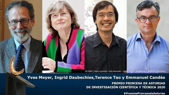 Cuatro matemáticos obtienen el Premio Princesa de Asturias de Investigación