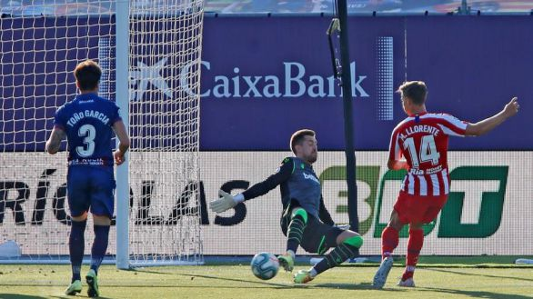 Llorente vuelve a desatascar el ataque del Atlético |0-1
