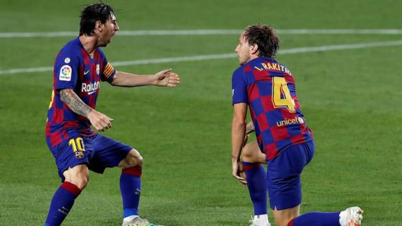 Rakitic salva al Barcelona de un petardazo ante el Athletic  1-0
