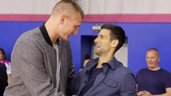 El pívot NBA Nikola Jokic, otro positivo más tras asistir a los actos de Djokovic