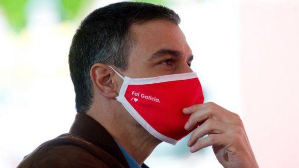 Sánchez hace campaña en Galicia presumiendo de gestión de la pandemia