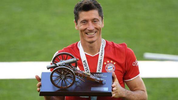 Bundesliga. Lewandowski, pichichi en Alemania y Bota de Oro virtual