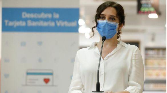 Ayuso anuncia el primer día sin muertes por coronavirus en Madrid