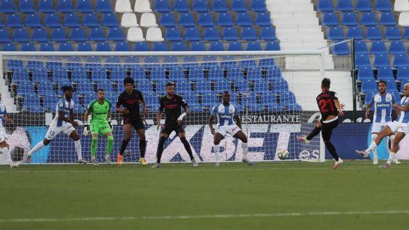 El Sevilla toma altura desde el desierto de Leganés | 0-3