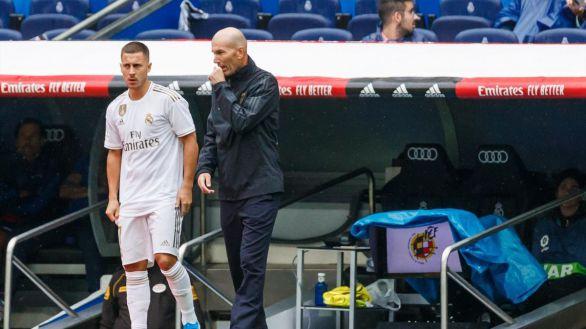 Con la Liga en juego, Zidane prescinde de Eden Hazard