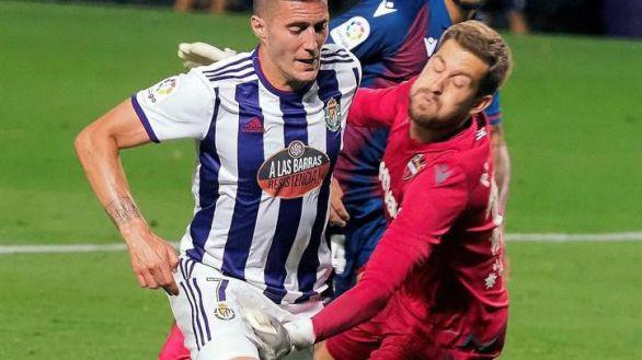 Ünal resta vida al Valladolid frente al Levante   0-0
