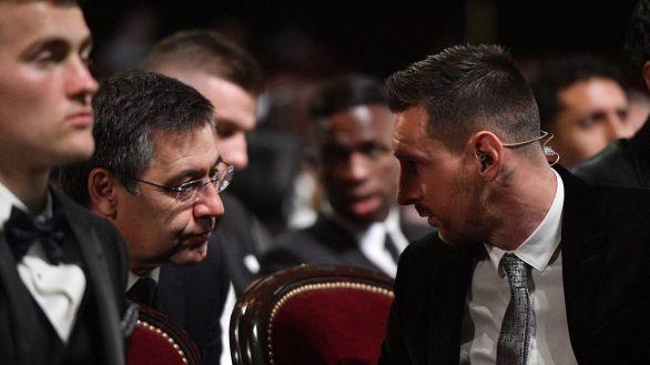Bartomeu aprovecha el mejor partido de Setién para proclamar que ha calmado a Messi