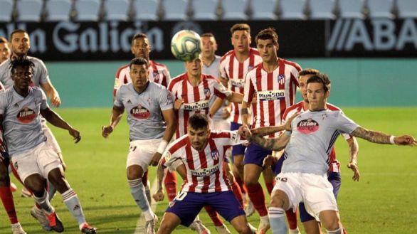 La agonía del Celta aplaca a la racha del Atlético | 1-1