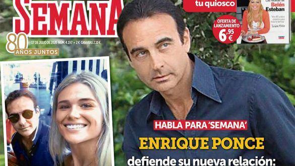Enrique Ponce confirma su relación con Ana Soria: