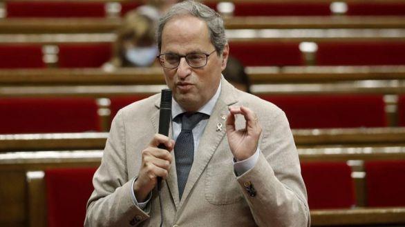 Torra culpa al Estado de los rebrotes de Cataluña