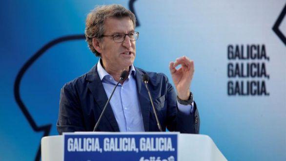 Feijóo llama a votar en Galicia frente a quienes quieren