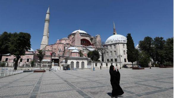 La basílica de Santa Sofía será una mezquita por orden de Erdogan
