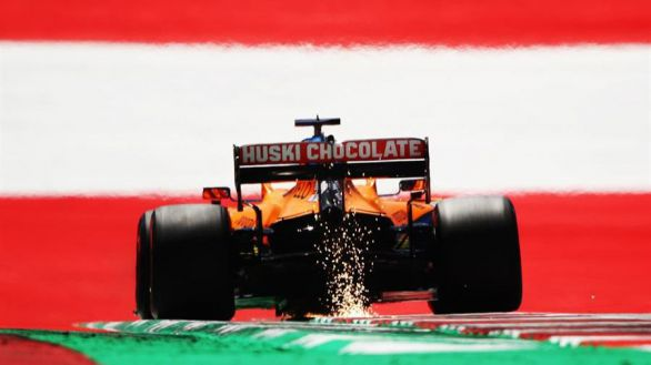 GP Estiria. Hamilton logra la 'pole' y Sainz se sube a la tercera plaza por vez primera
