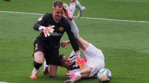 El Barcelona se desinfla pero gana en Valladolid | 0-1