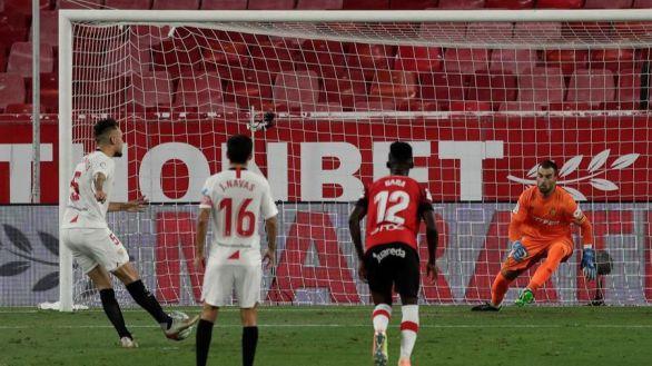 El Sevilla entierra al Mallorca en el Pizjuán | 2-0