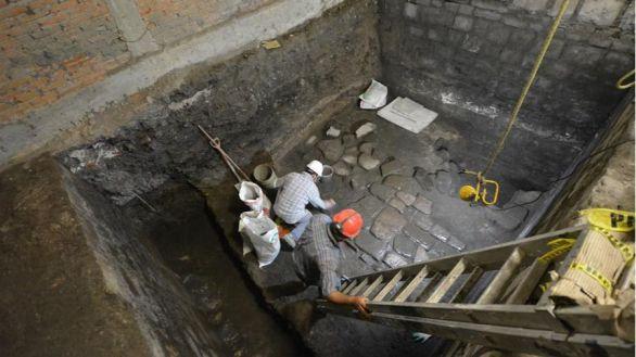 Hallados restos de un palacio prehispánico y de la casa de Hernán Cortés en México