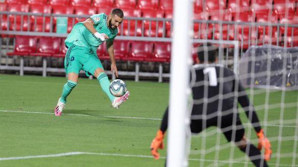 El Real Madrid acaricia el título tras sobrevivir al impulso del Granada |1-2