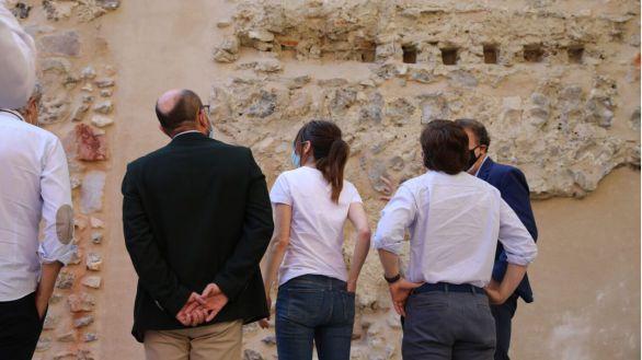 Concluye la restauración de la muralla cristiana de Madrid del siglo XII