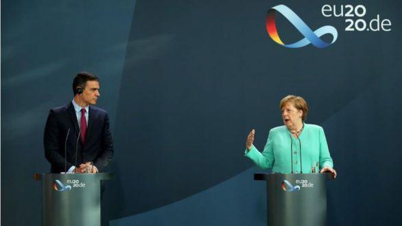 Merkel advierte a Sánchez de que el acuerdo 'no es seguro' porque hay 'discrepancias'