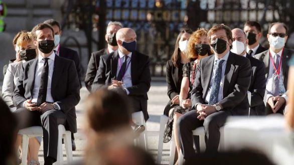 Torra, Von der Leyen y Tedros Adhanom, entre los asistentes