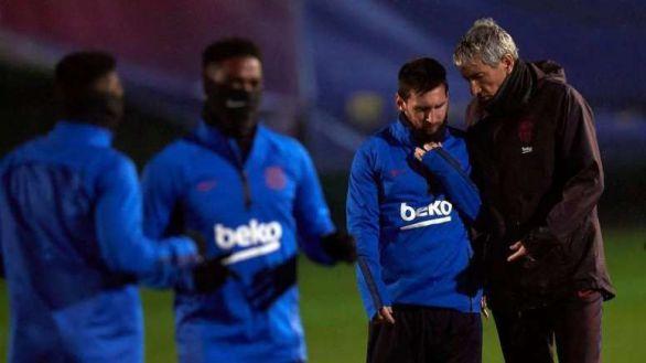 A pesar de Messi, Bartomeu mantiene a Setién...de momento