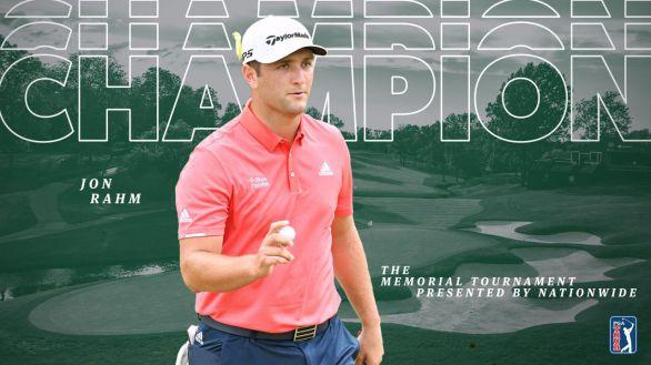 Memorial. Jon Rahm gana y se corona como el mejor golfista del mundo