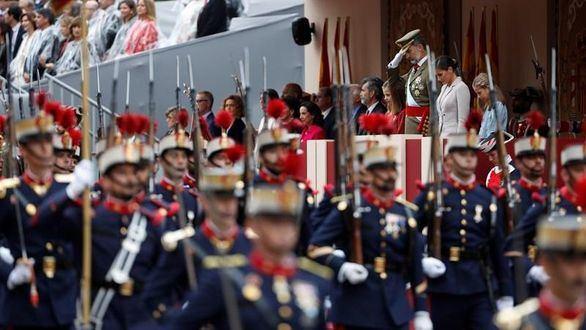 Suspendido el tradicional desfile militar del 12-O por el coronavirus