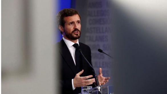 Casado apoyará a Sánchez para cumplir con Europa si sus reformas son