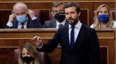 Casado a Sánchez: 'Debe elegir entre cumplir con Europa o cumplir con sus socios'