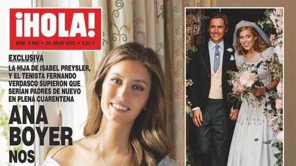 Ana Boyer y Fernando Verdasco esperan su segundo hijo, que nacerá en diciembre