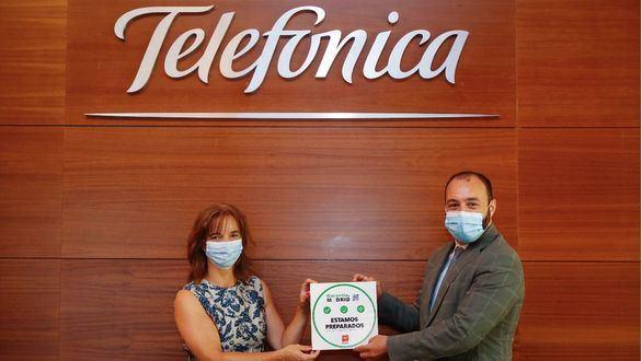 La Comunidad de Madrid reconoce a Telefónica las buenas prácticas en seguridad