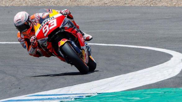 Moto GP. Márquez supera el examen médico y correrá este fin de semana