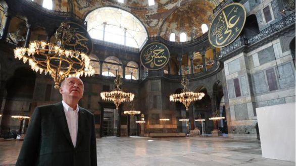 Primer rezo musulmán en Santa Sofía: de iglesias bizantina a gran mezquita