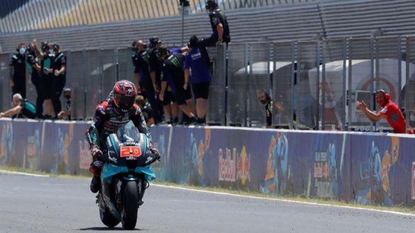 GP España 2. Quartararo gana otra vez y amenaza el Mundial de Márquez