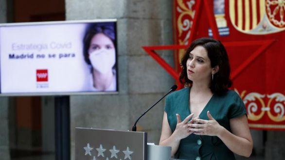 Mascarilla obligatoria en Madrid y grupos de 10 personas a partir de este jueves