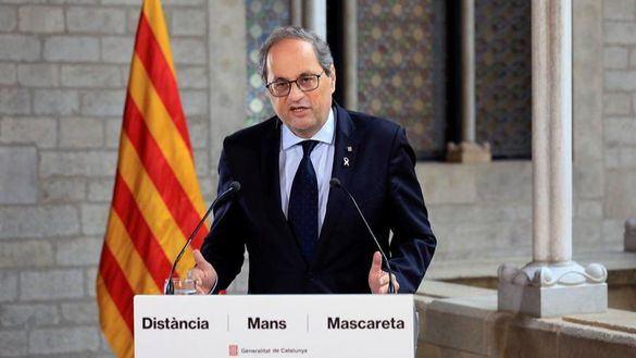 Torra congela la mesa de diálogo con el Gobierno y compara a España con China y Turquía