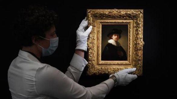 Un autorretrato de Rembrandt, vendido por la cifra récord de 16 millones de euros