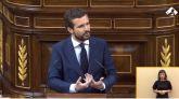 Casado pide un comisionado que gestione los fondos para evitar el 'peronismo'