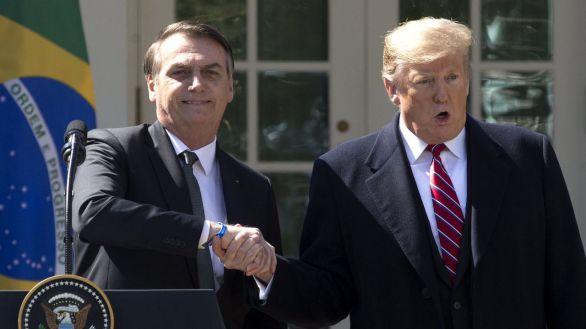 Trump amenaza a Bolsonaro si Brasil encarga su 5G a Huawei