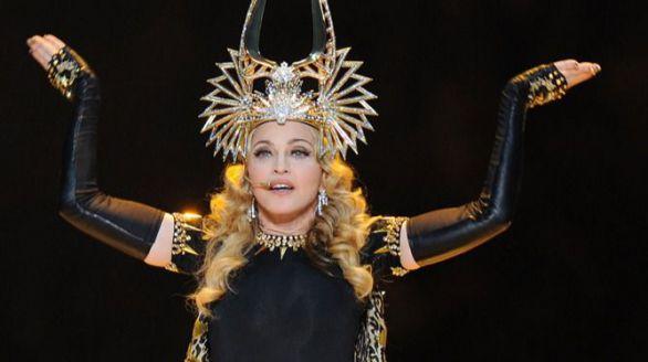 Madonna, reina del pop.