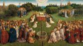Descubiertos los rasgos faciales del Cordero Místico del retablo de Van Eyck