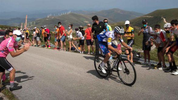 Vuelta a Burgos. Iván Sosa gana en Neila y la perla Evenepoel es campeón