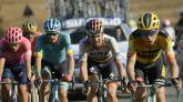 Strade Bianche. Van Aert firma una exhibición en Siena